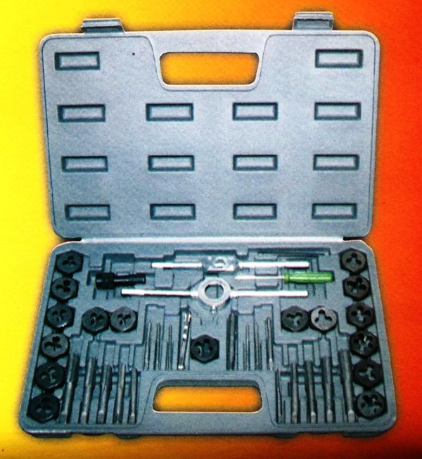 40PZ FILIERE TAP&DIE SET